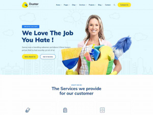 Best Premium Cleaning Service WordPress Themes