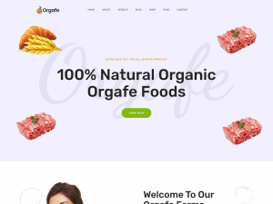 Best Health Diet, Organic WordPress Themes with WooCommerce