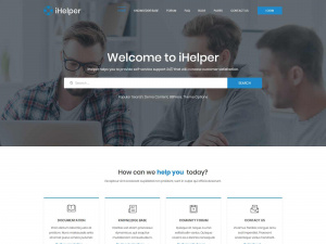 Best Premium Responsive HelpDesk, Knowledge Base and Documentation WordPress Themes