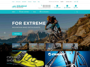 Best Premium Bicycle Shop Magento Theme