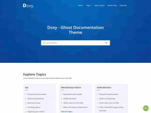 Best Premium HelpDesk, Knowledge Base and Documentation Ghost Themes
