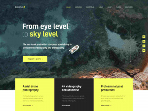 Best Premium WordPress WooCommerce Themes for Drone and UAV