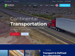 Best Premium Logistic & Transport WordPress Themes