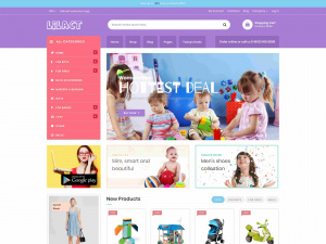 Best Premium Kids Toys Shop Magento Theme