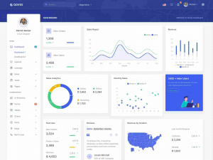 Best Premium HTML5 Laravel Admin Panel & Dashboard Templates