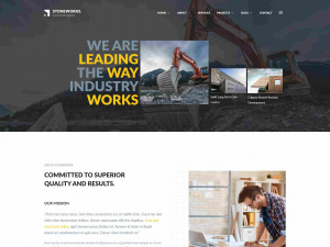 Best Premium Drupal Theme for Construction Company and Industries