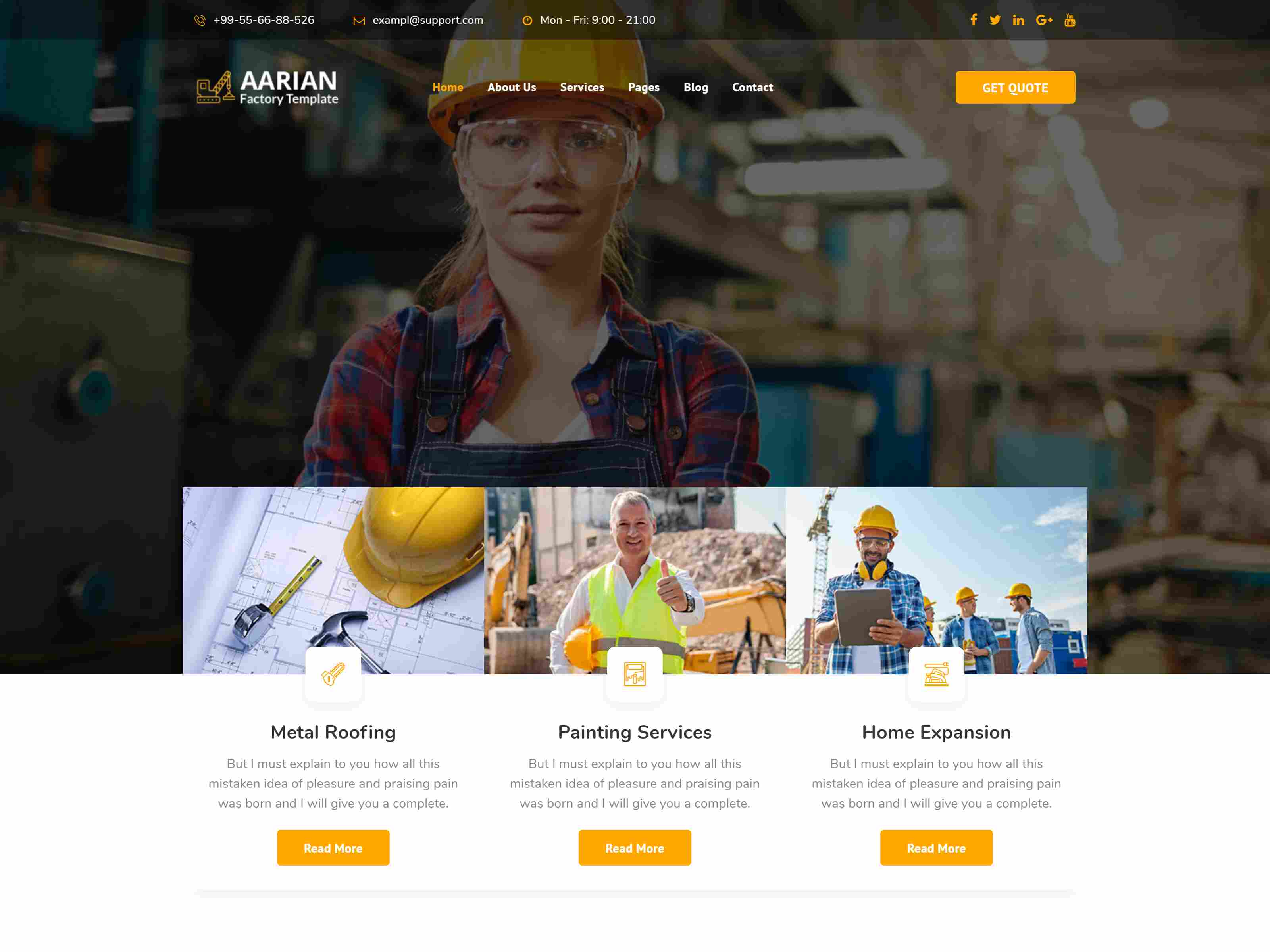 Best Premium Oil and Gas Joomla Themes