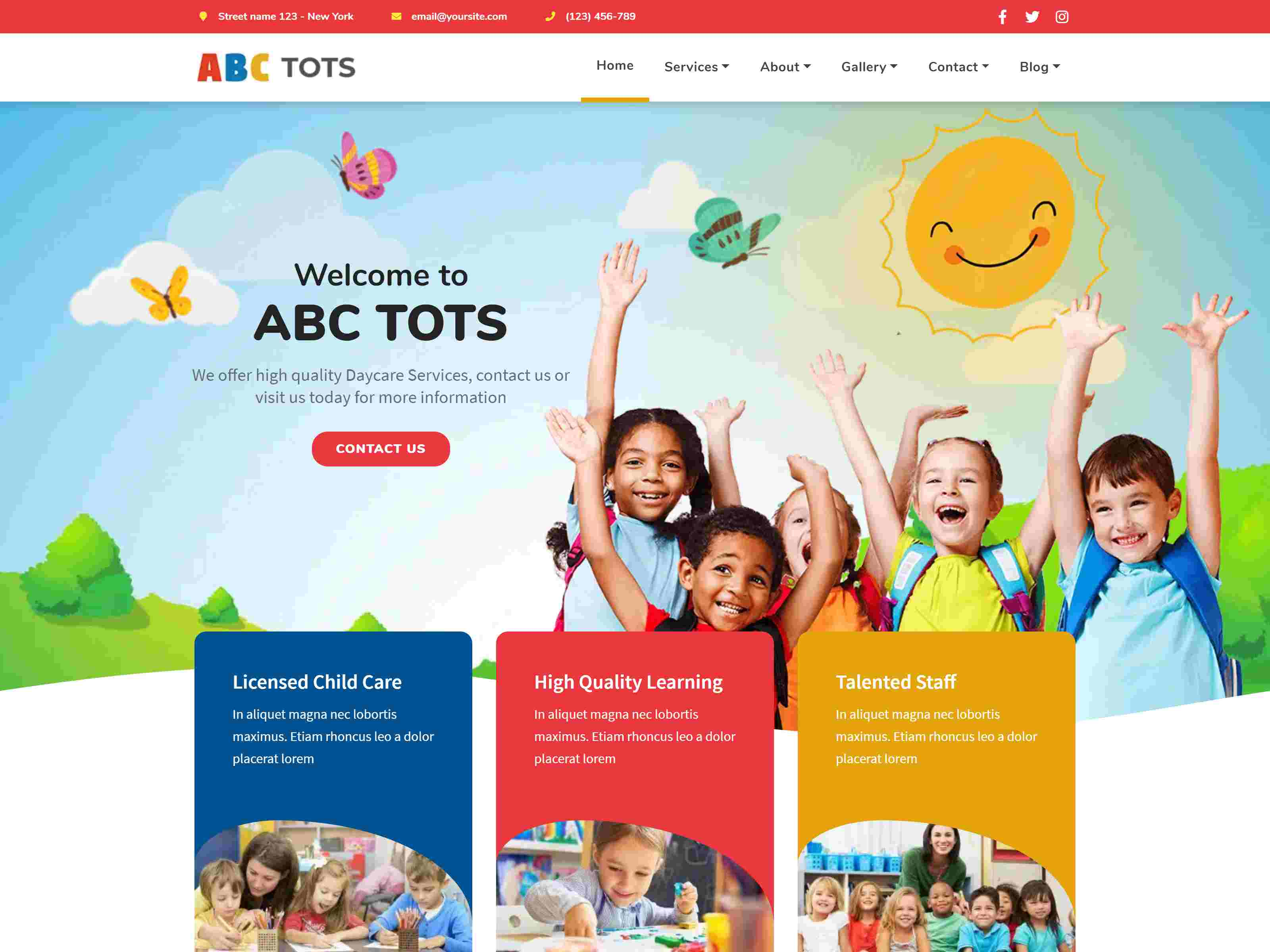 Abc Tots - Kindergarten Theme