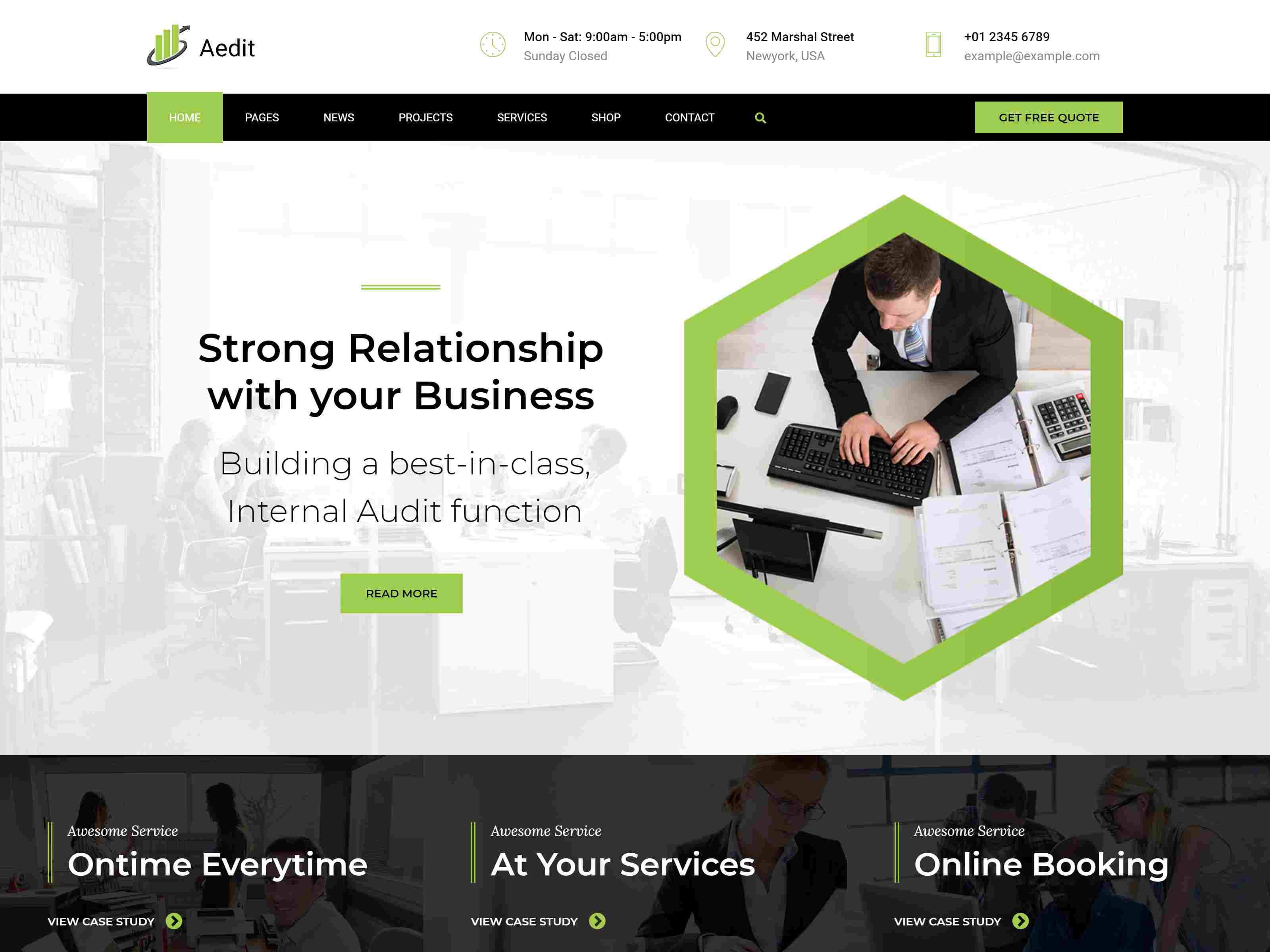 Aedit - Consultancy WordPress Law WordPress Themes