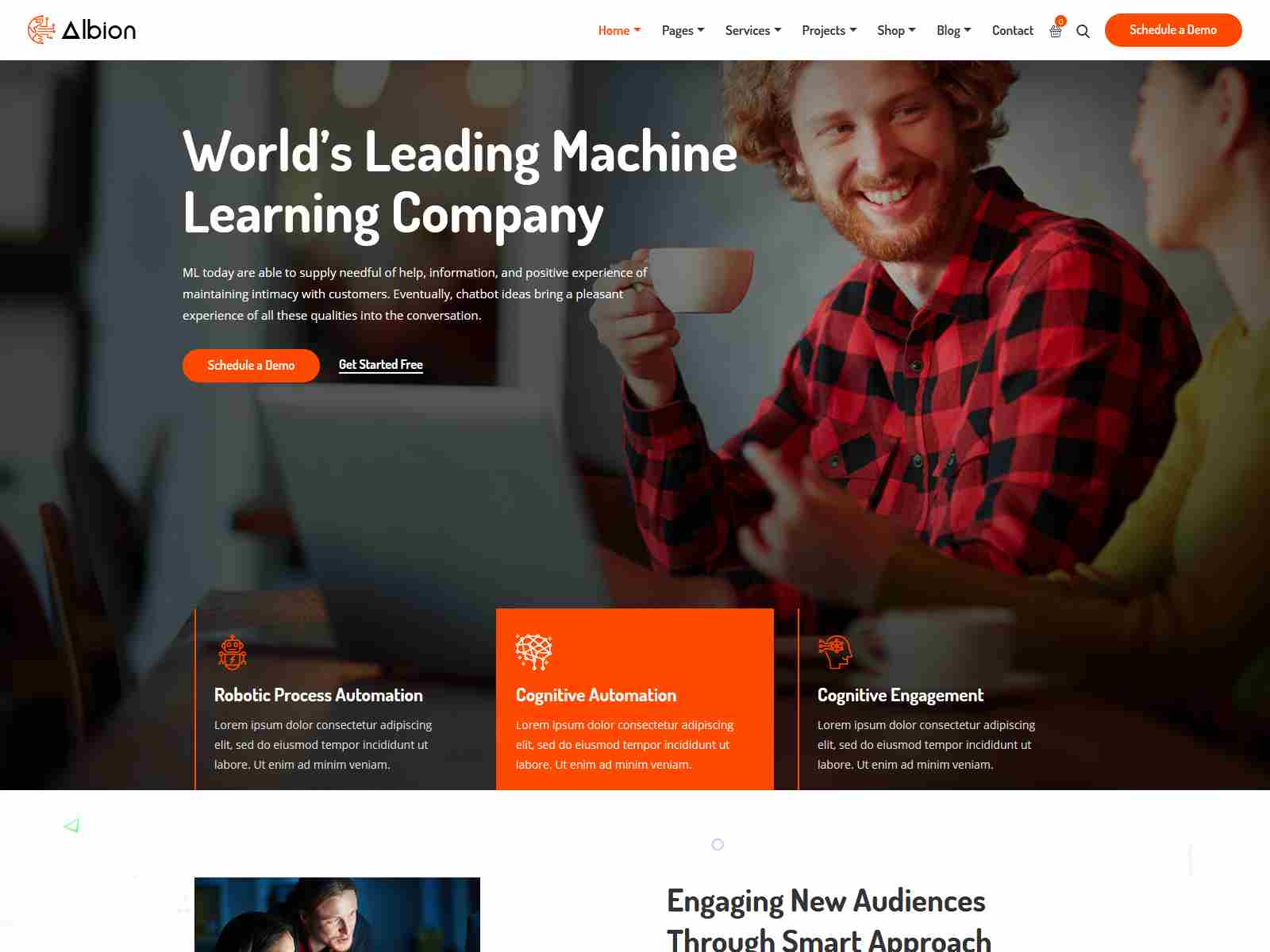 Best Premium Machine Learning WordPress Themes