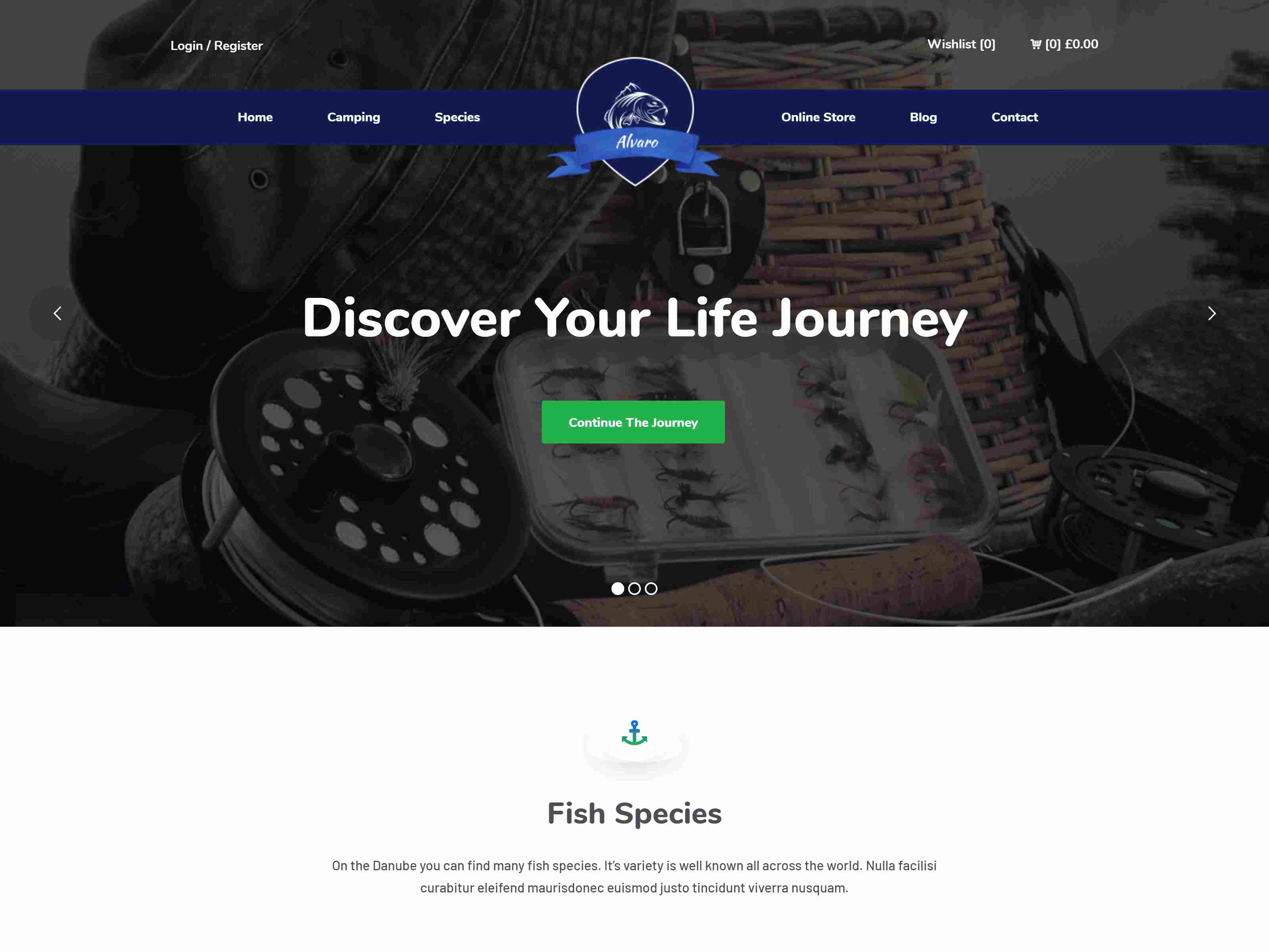 Best Premium Fishing WordPress Themes
