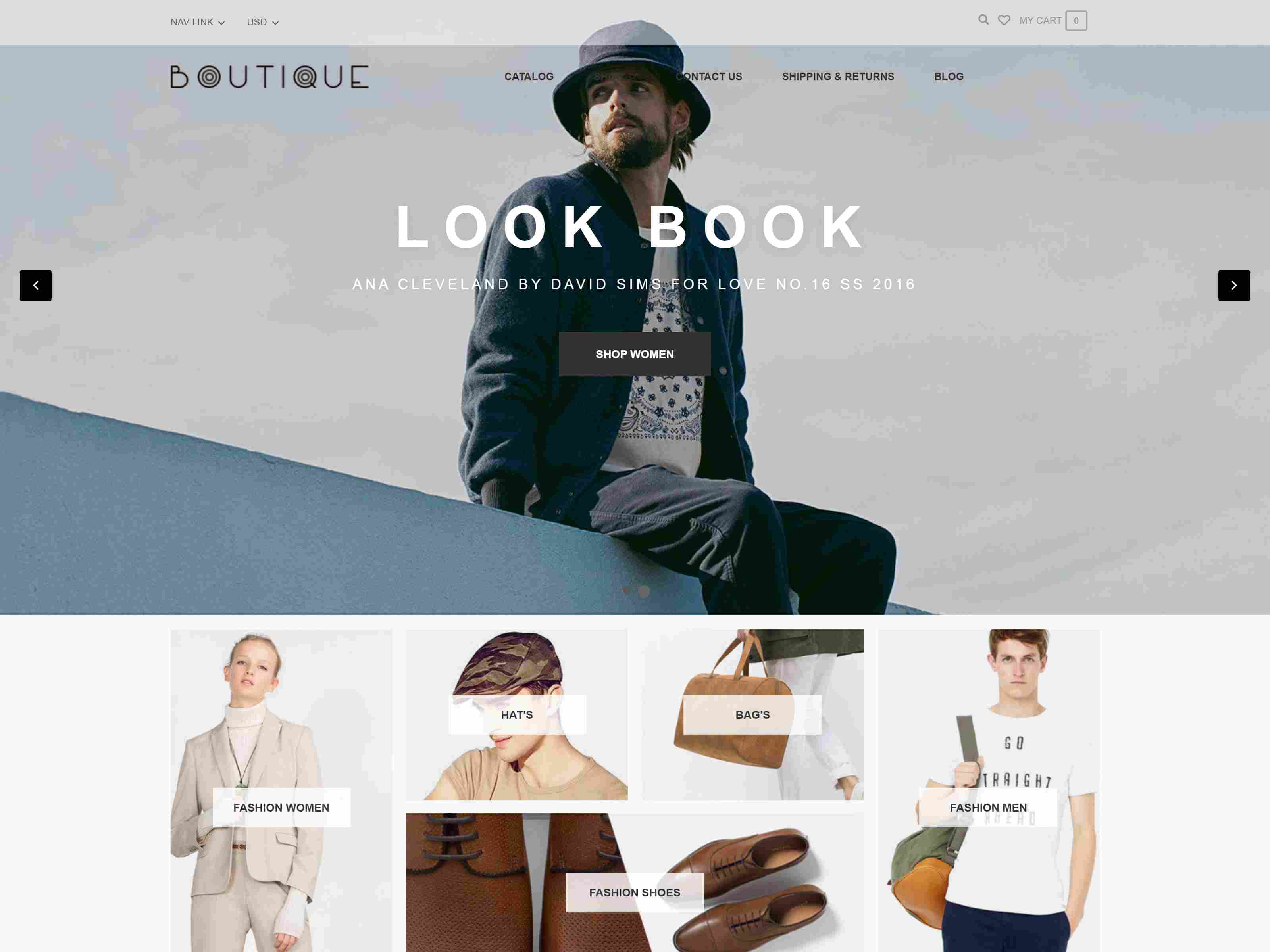 Ap Boutique Responsive Bigcommerce Theme Template Clothing BigCommerce Themes