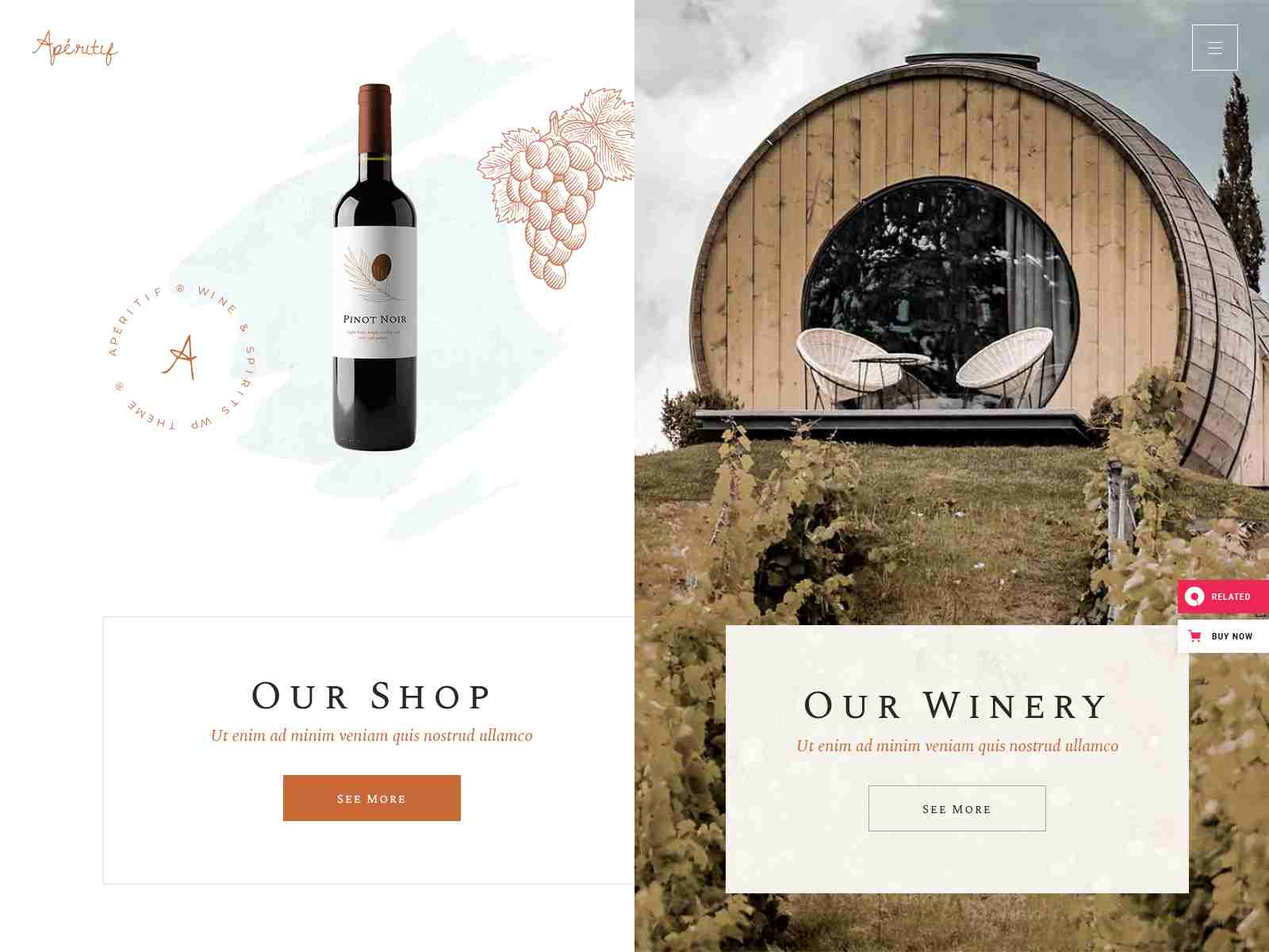 Best Premium Vineyard WordPress Themes