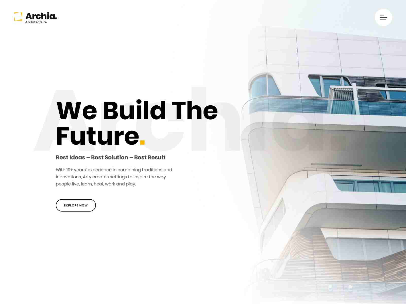 Archia - Architecture & Interior WordPress Theme architecture wordpress themes, real estate wordpress theme