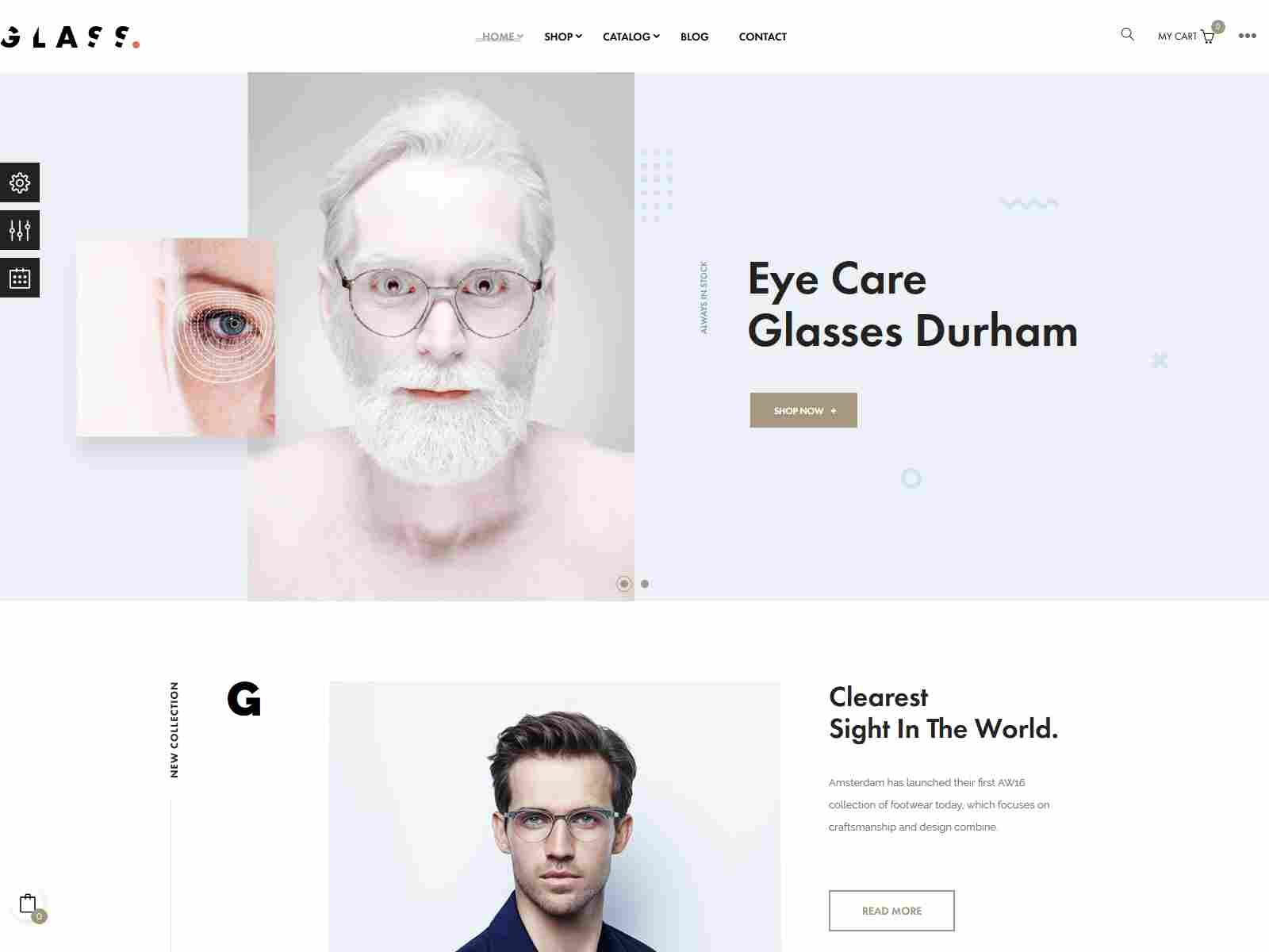 At Glasses - Premium Prestashop Theme for Fashion