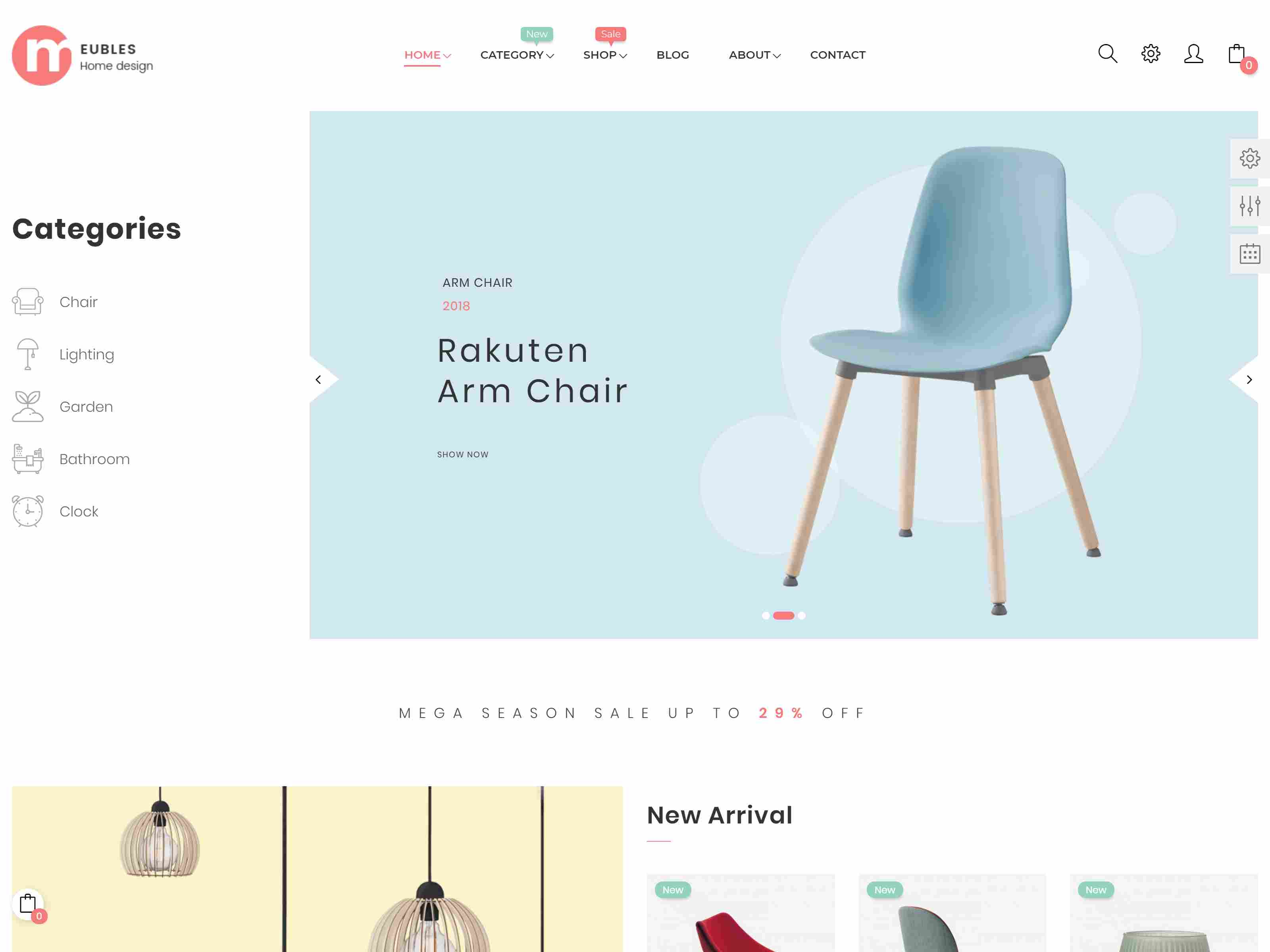At Meubles Furniture Prestashop Theme For Wooden & Home Decor