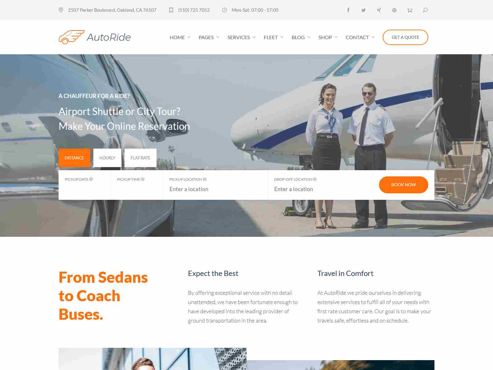 Best Premium Aircraft WordPress Themes