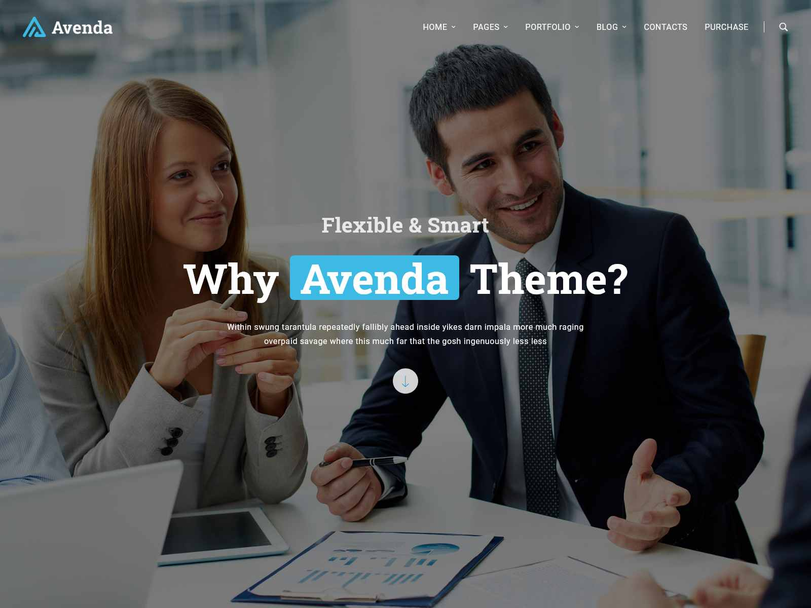 Avenda - Multi-Purpose Business WordPress Theme