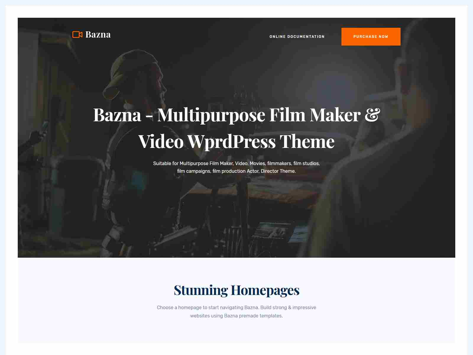 Best Premium Film WordPress Themes