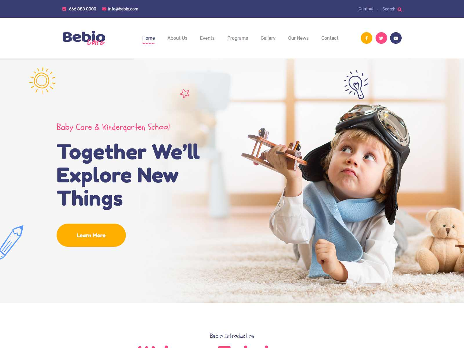 Best Premium Child Care WordPress Themes