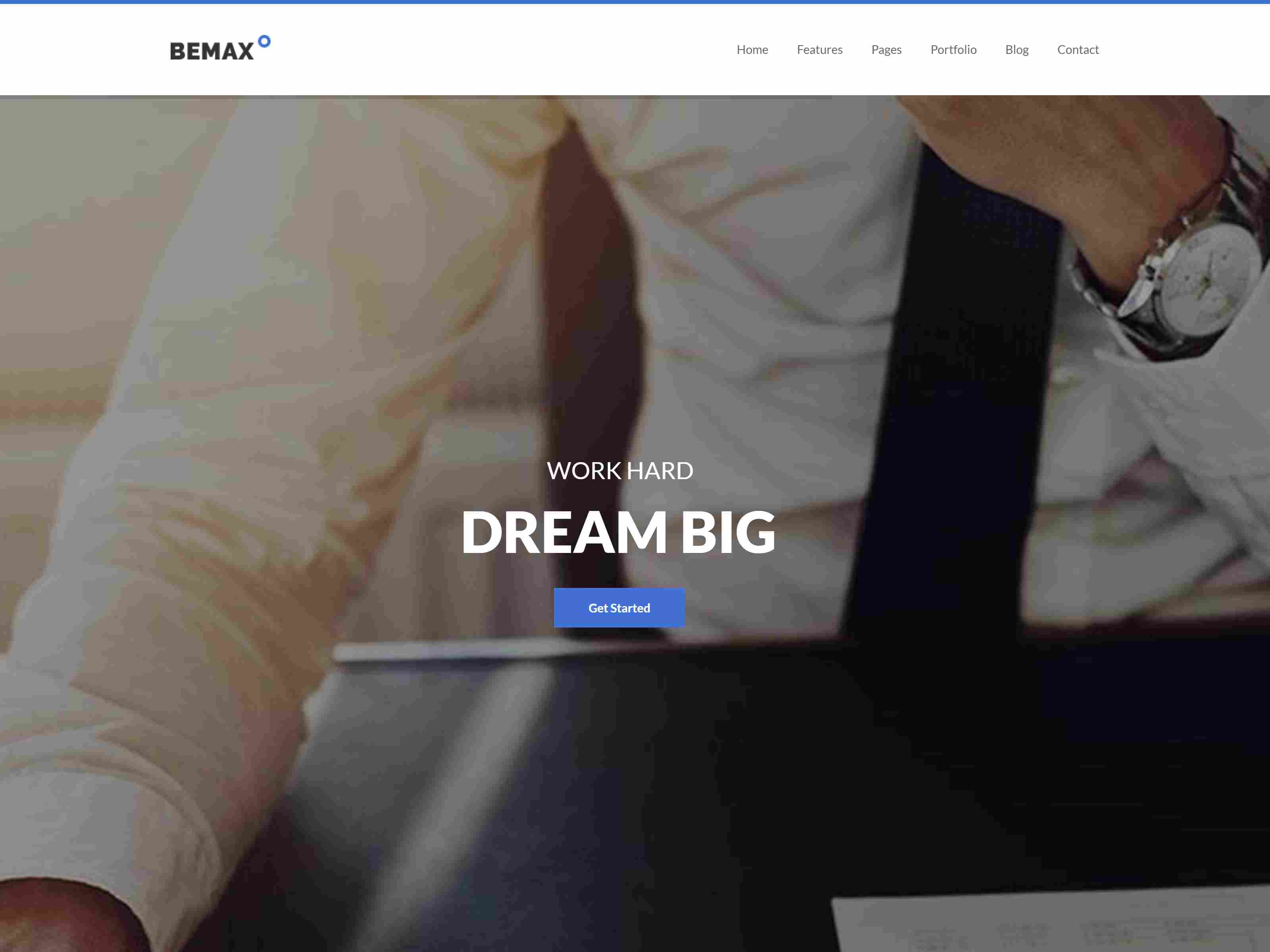Bemax - Multipurpose Corporate Business Joomla Template