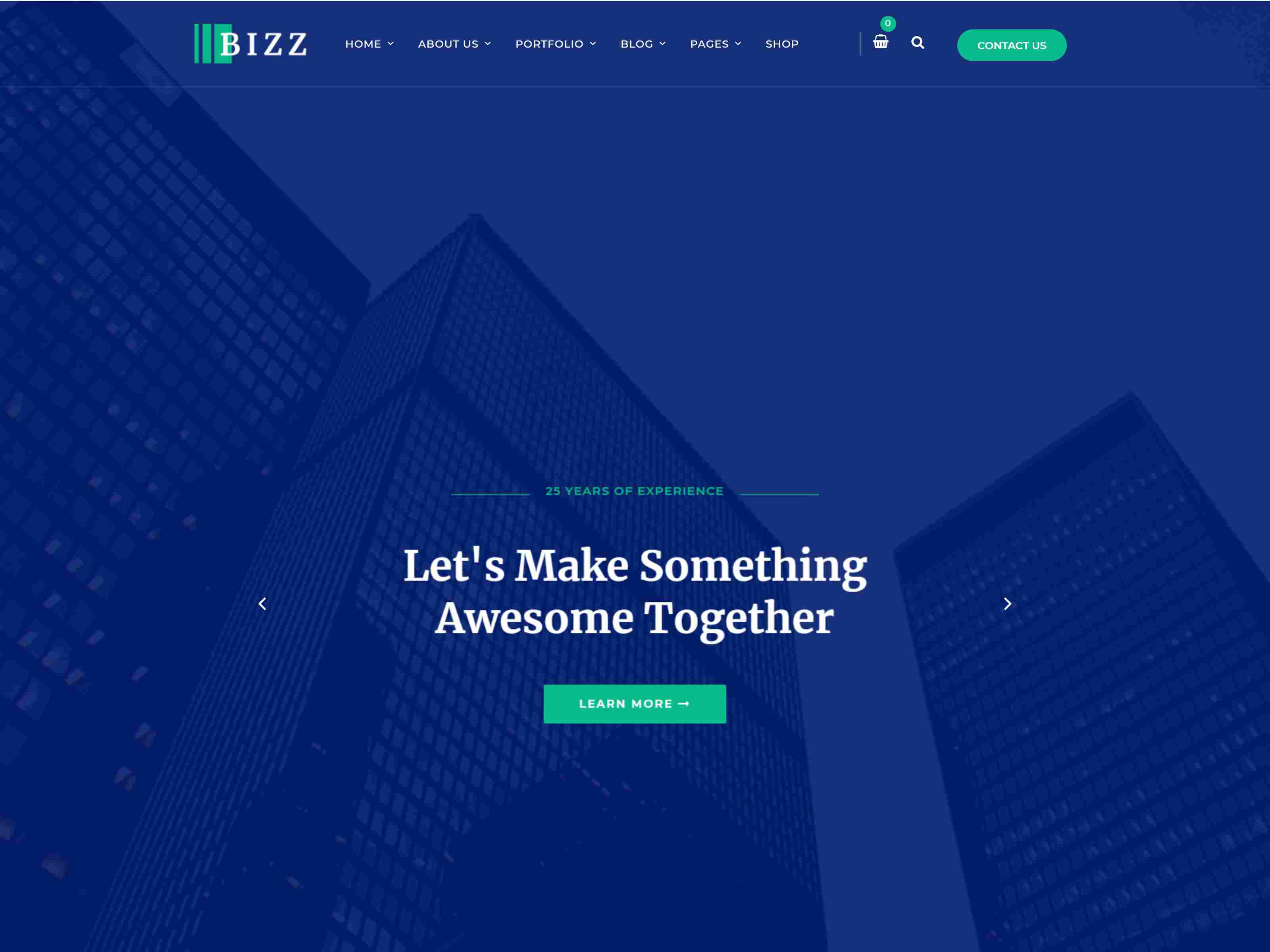 Bizz - Business Consulting and Professional Services Joomla Template