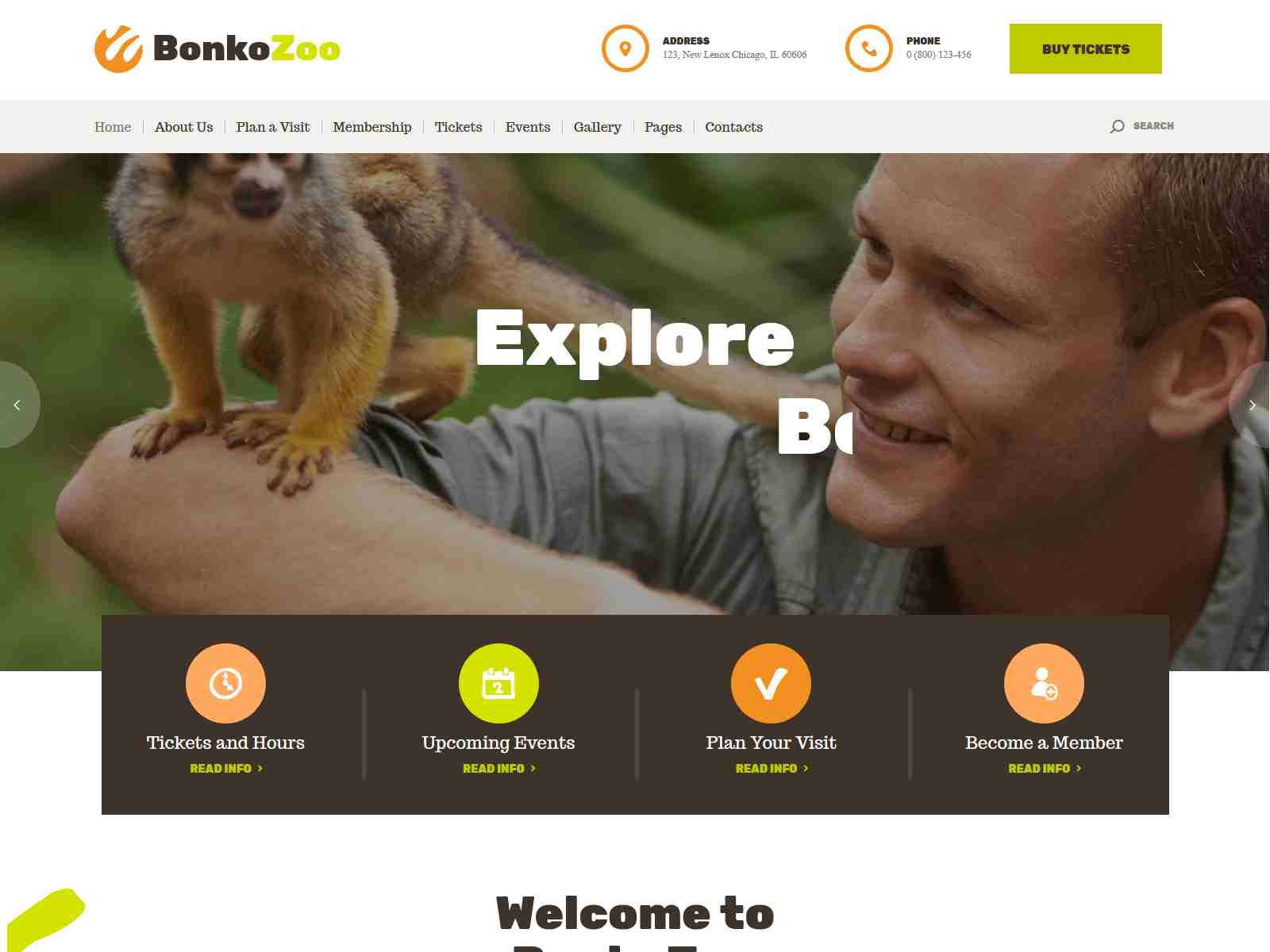 Best Premium Zoo WordPress Themes