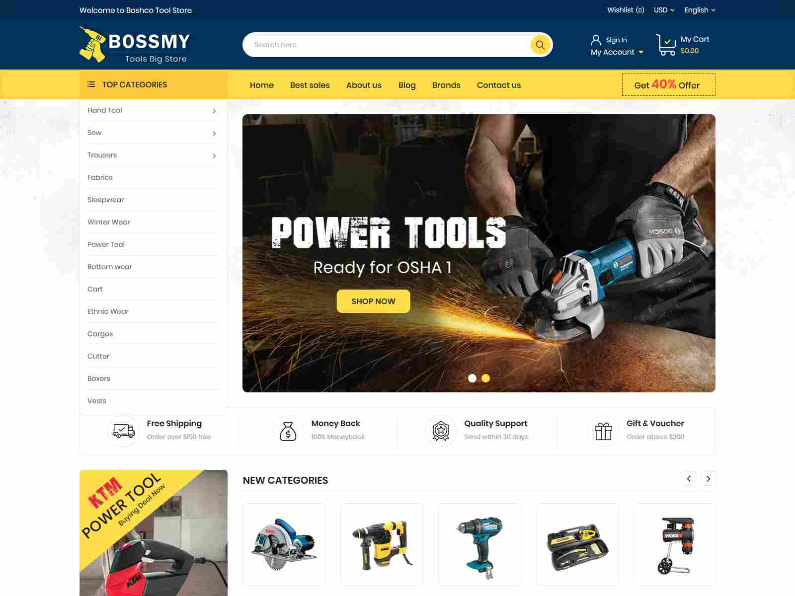 Best Premium Tools PrestaShop Themes