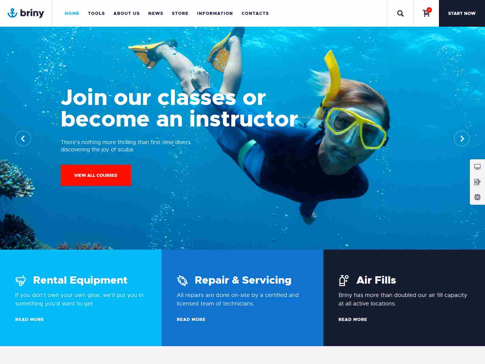 Best Premium ScubaDiving WordPress Themes
