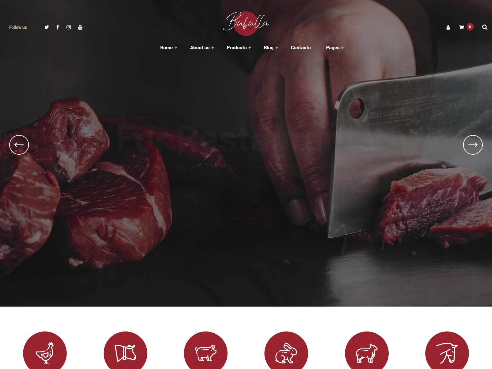 Best Premium Meat WordPress Themes