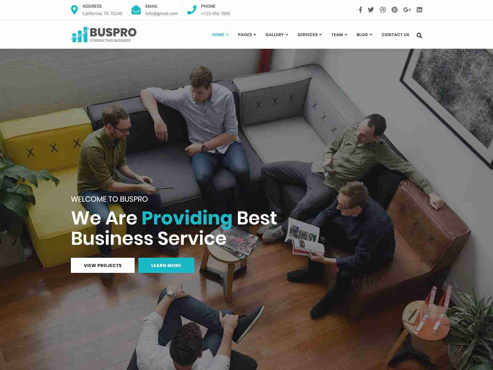 Buspro - Multipurpose Business and Corporate WP Theme Insurance Company WordPress Themes