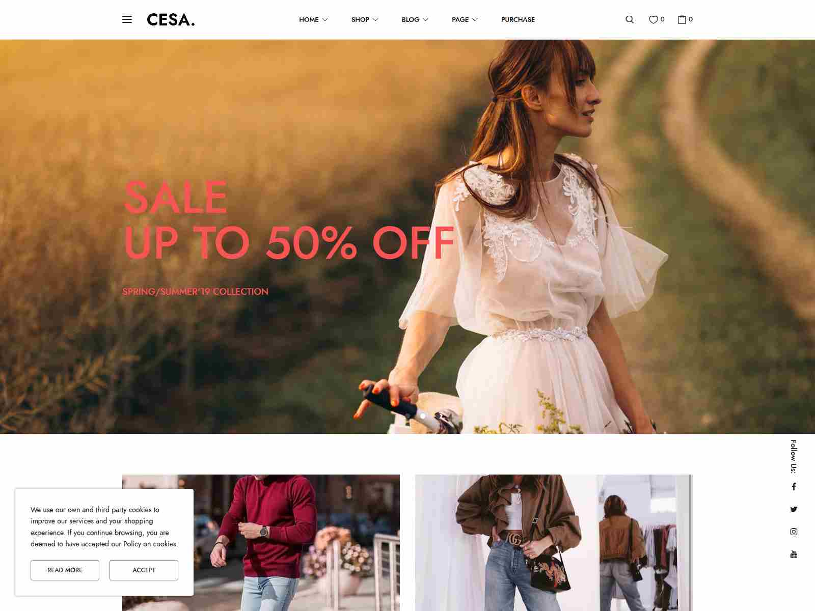 Cesa - Gutenberg WooCommerce WordPress Theme