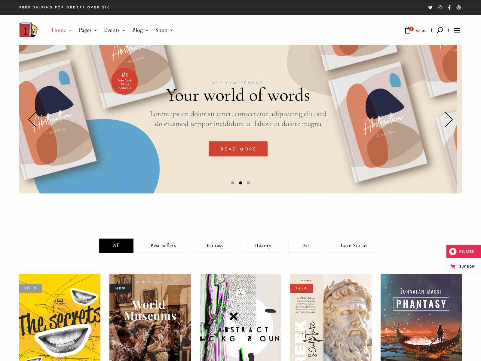 Best Premium Bookstore WordPress Themes