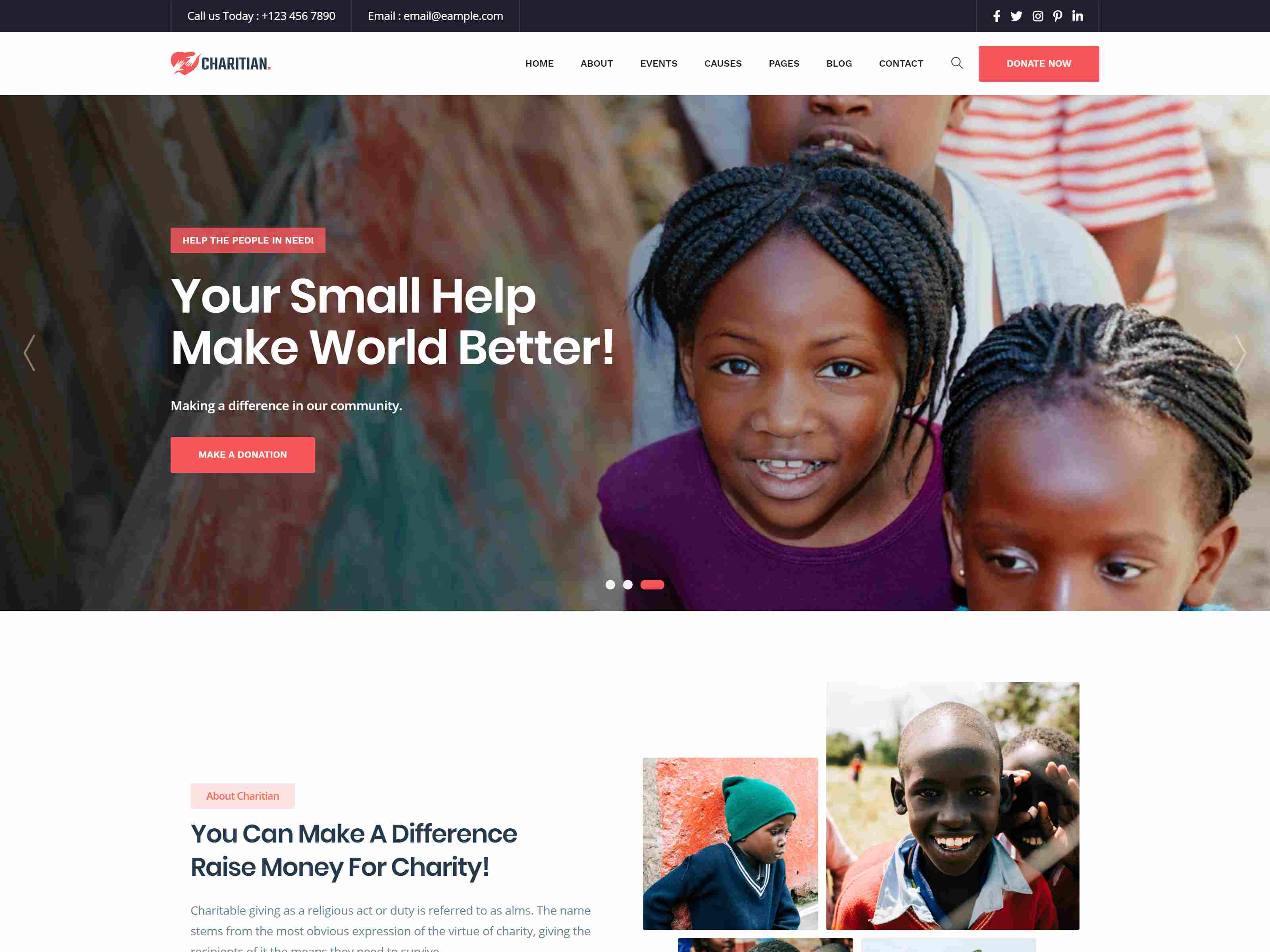 Best Premium Charity WordPress Themes
