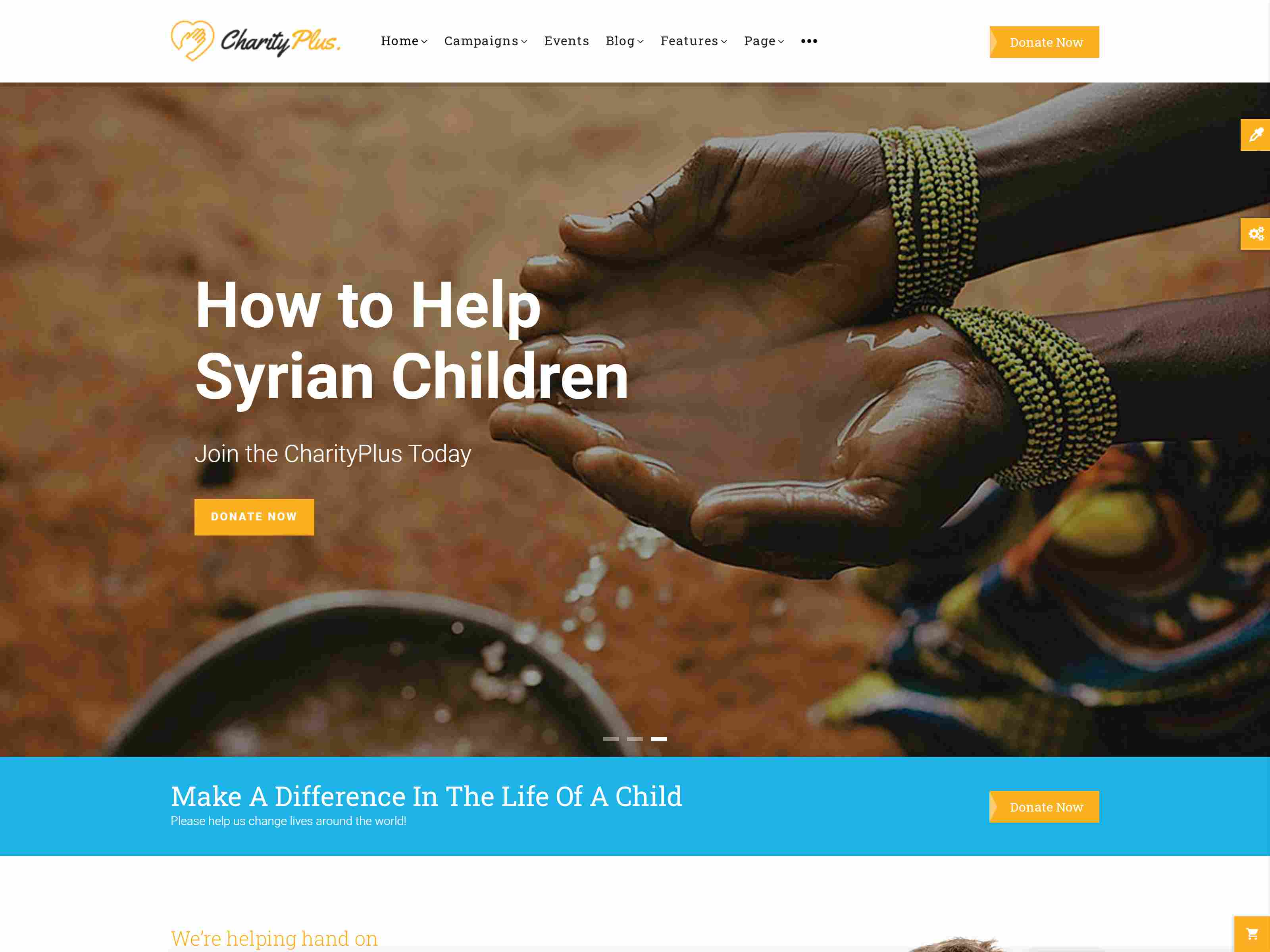 Best Premium Charity Drupal Themes