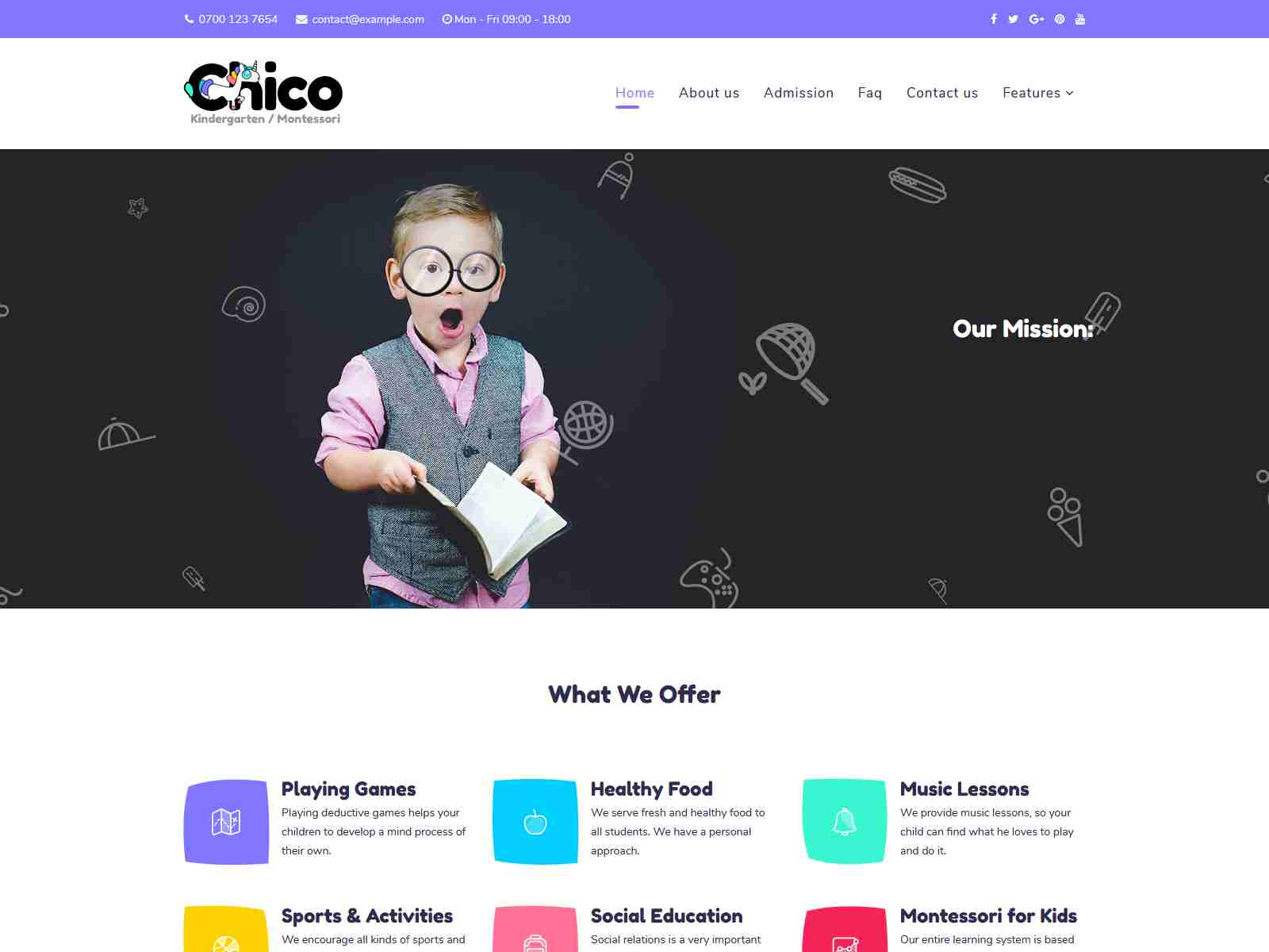 Best Premium Child Care Joomla Themes