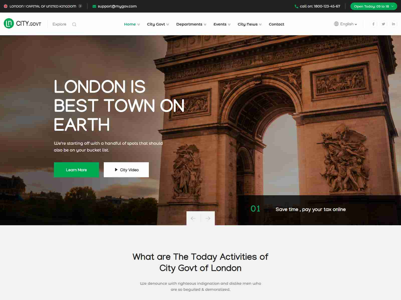 Best Premium Government WordPress Themes