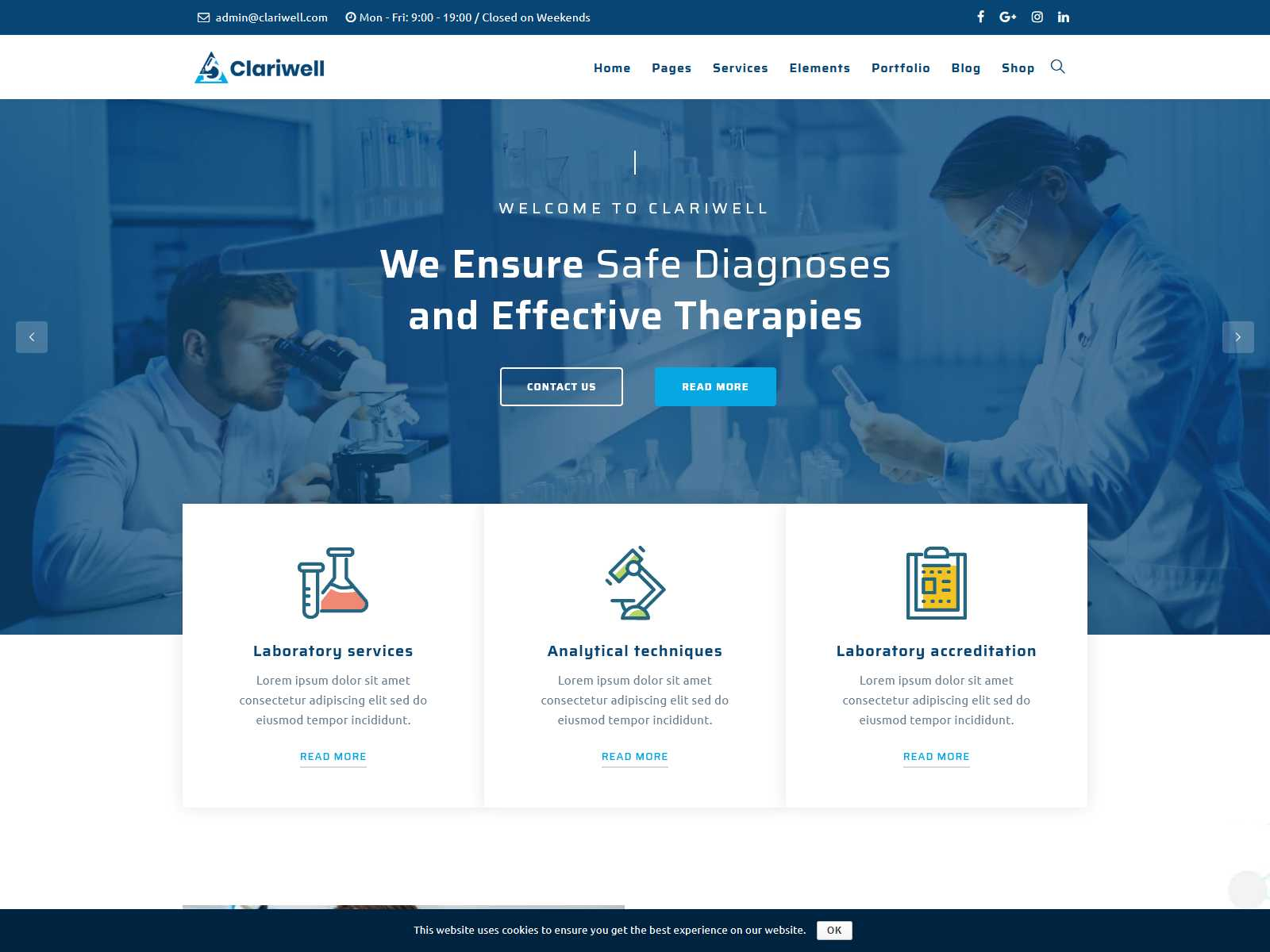 Best Premium Lab WordPress Themes