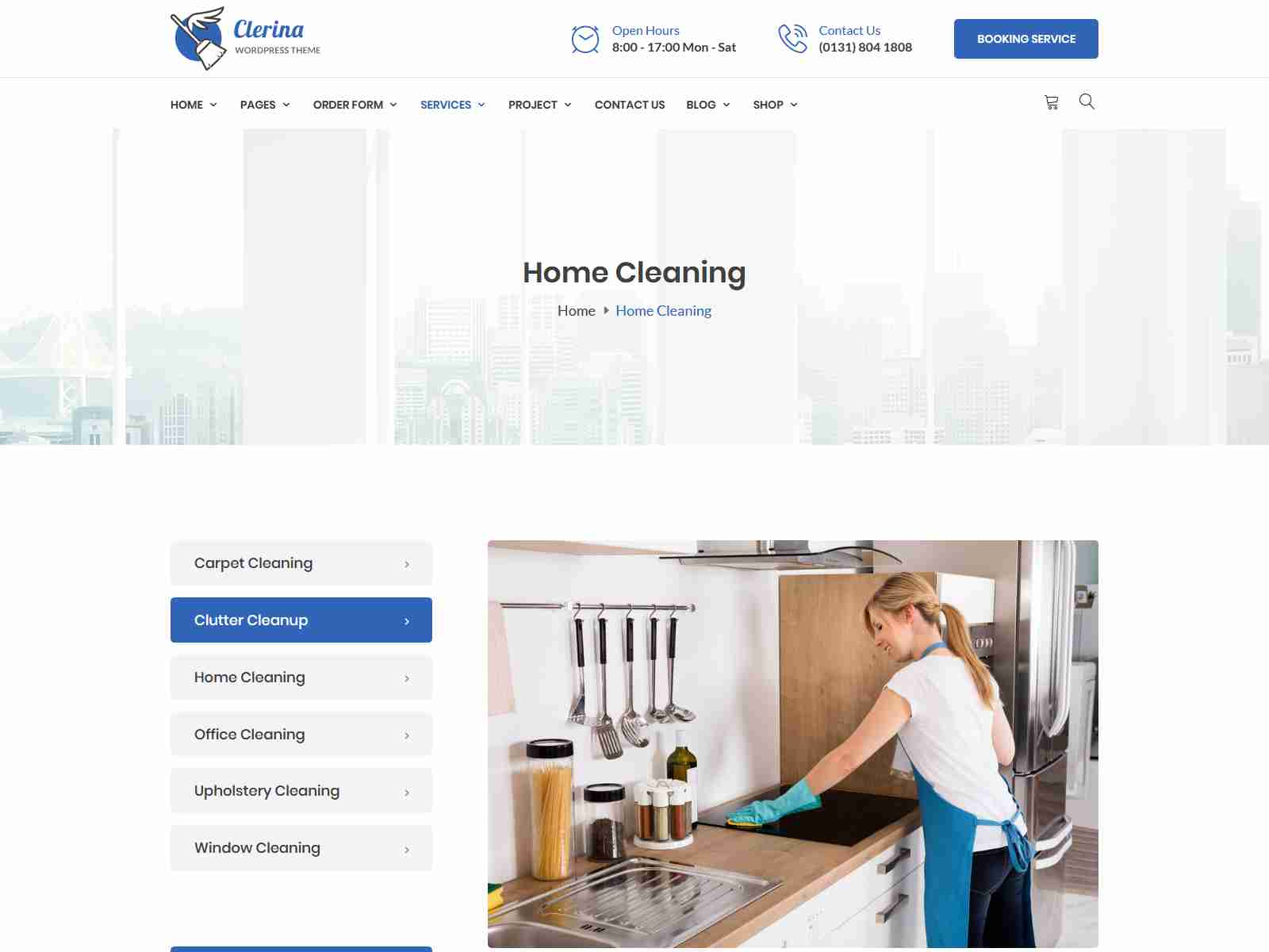 Best Premium Maid Services WordPress Themes