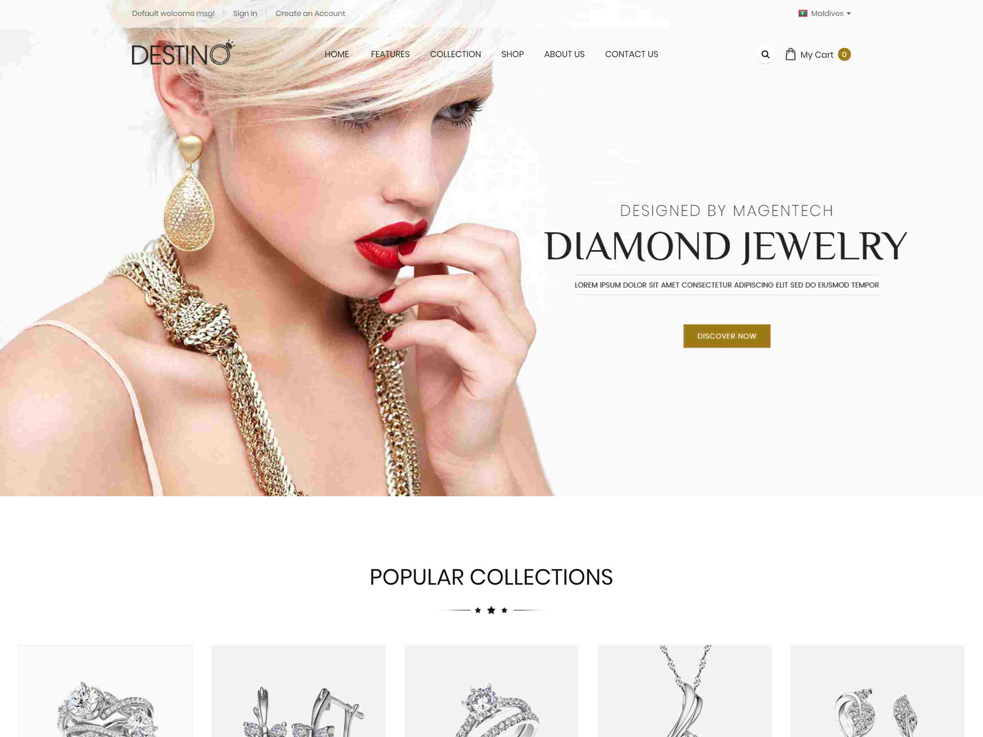 Best Premium Jewelry Shop Themes for Magento