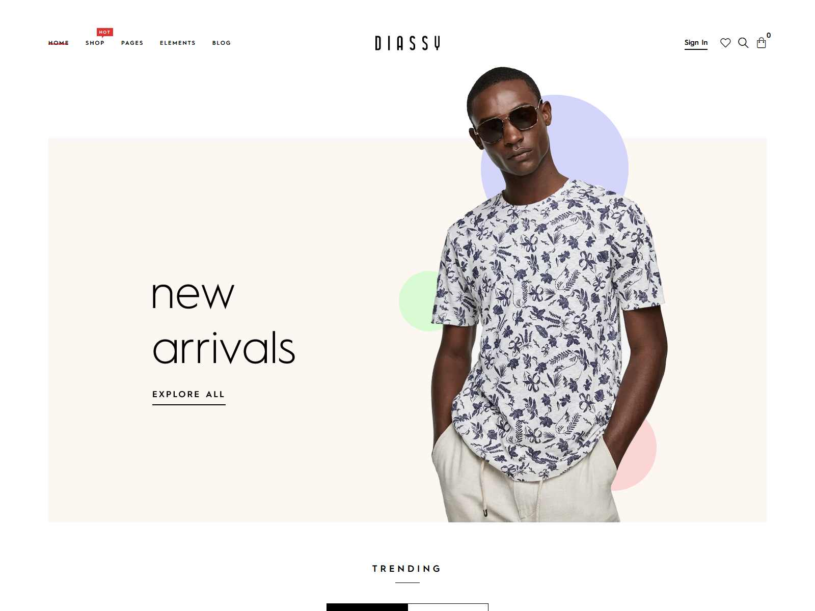 Diassy - Fashion WooCommerce Theme