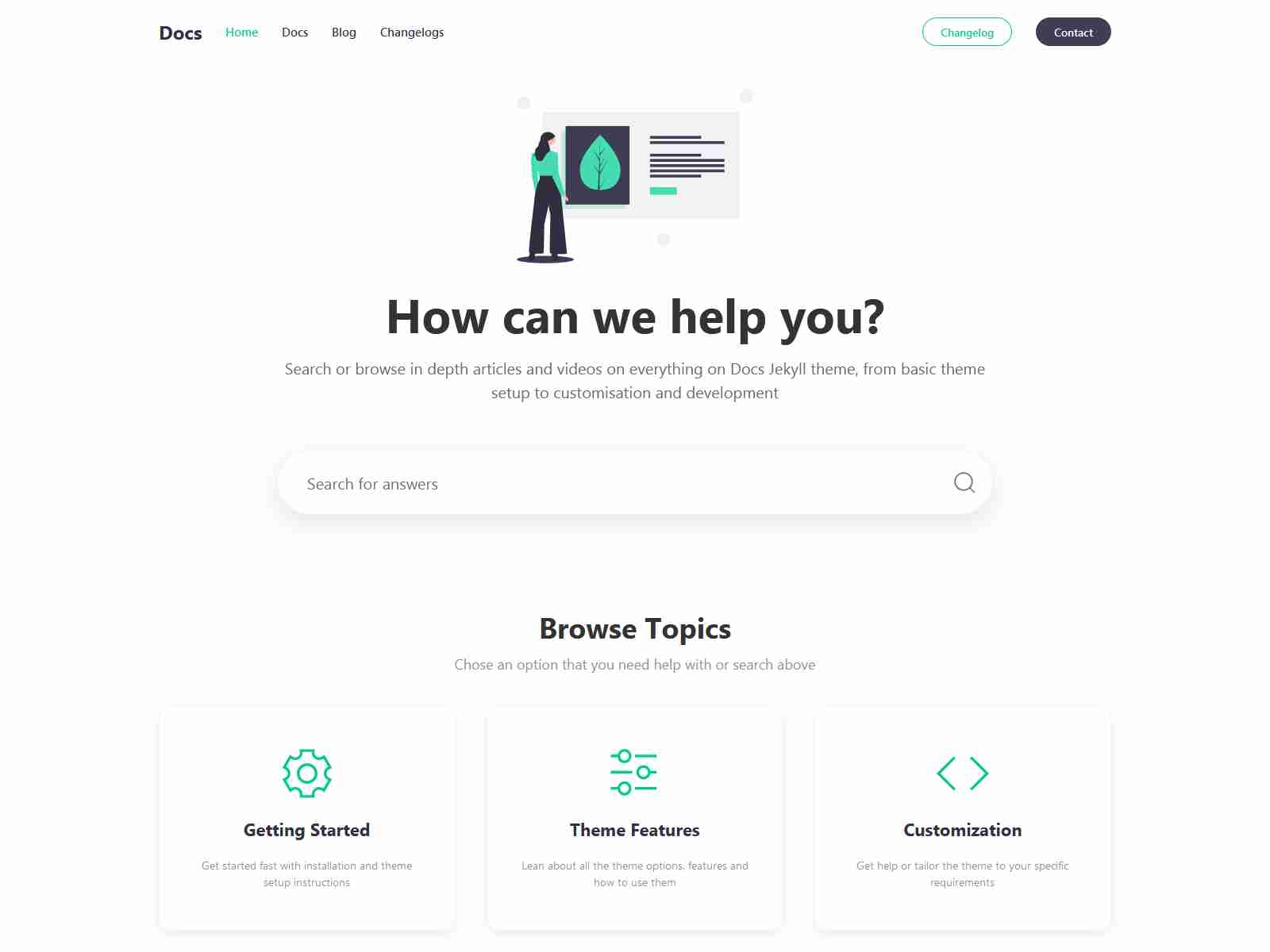 Best Premium Helpdesk Jekyll Themes