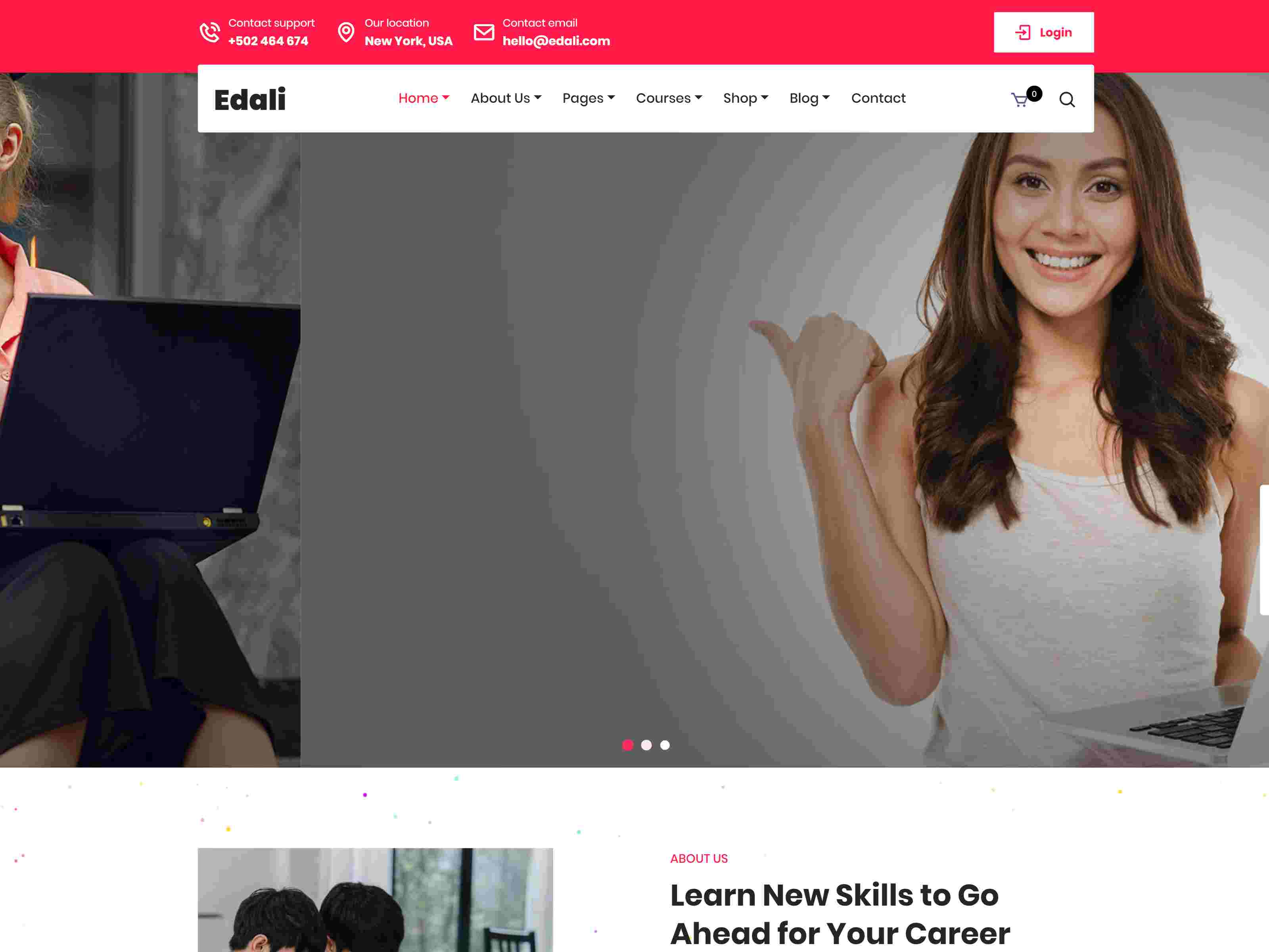 Edali - Education & LMS WordPress Theme