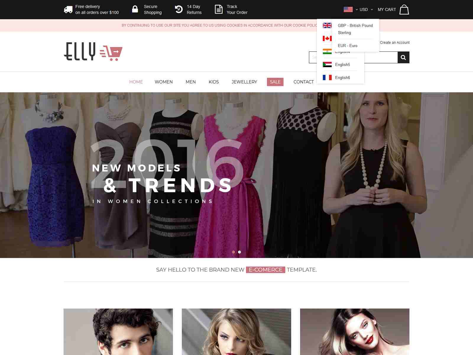 Elly - Multipurpose Responsive Magento Theme
