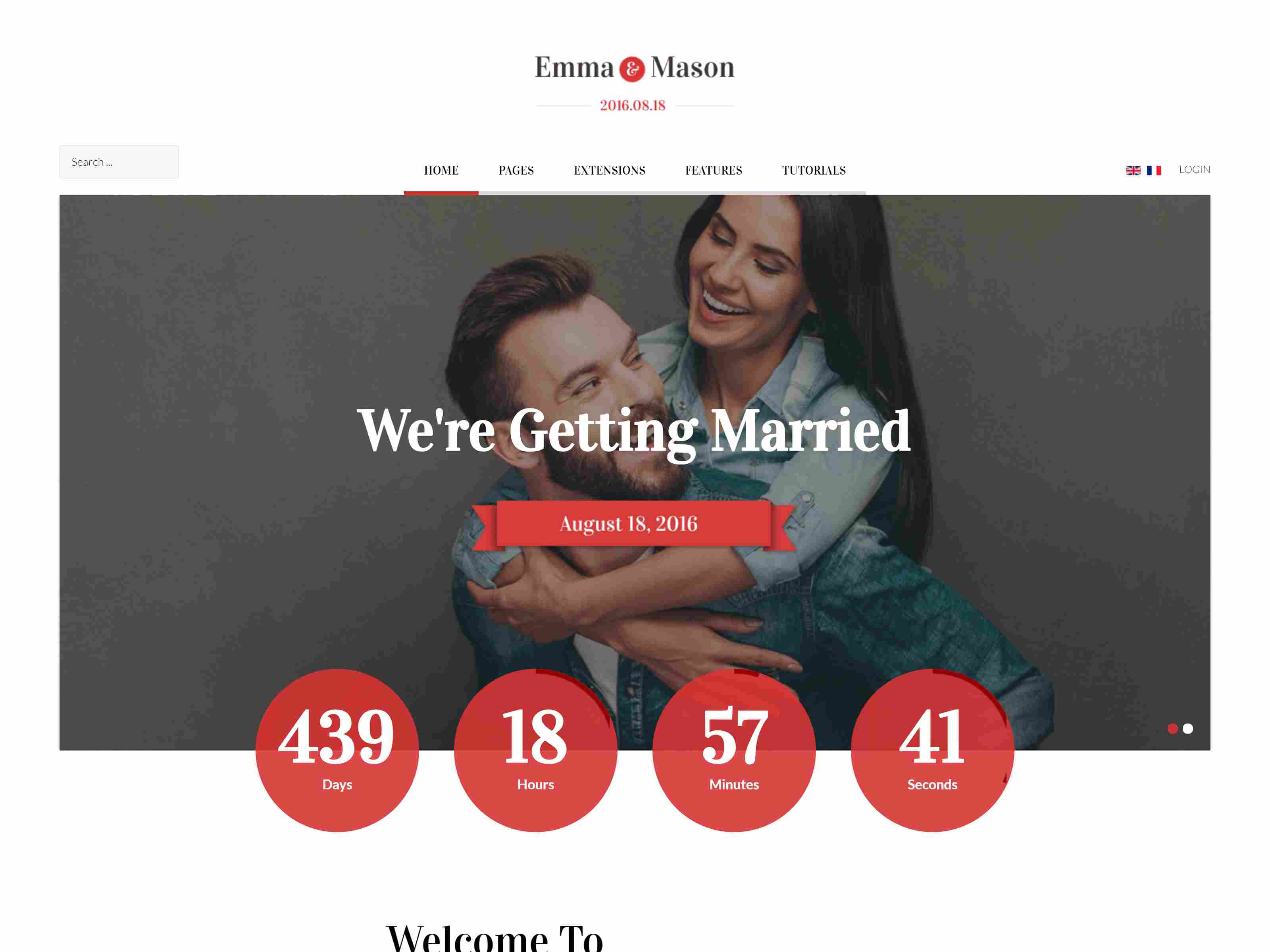 Best Premium Wedding Joomla Themes