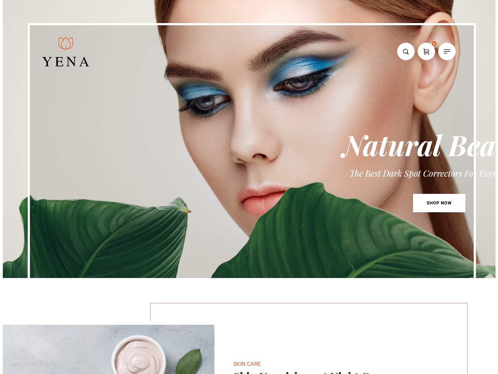 ena – Beauty & Cosmetic WooCommerce Theme