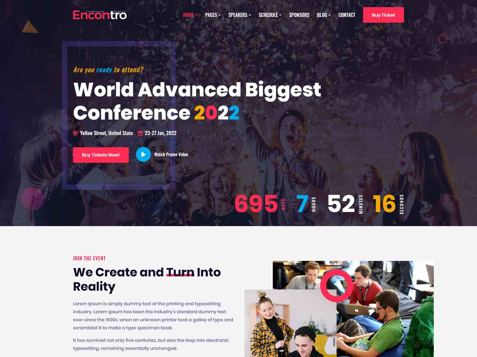 Best Premium Conference WordPress Themes