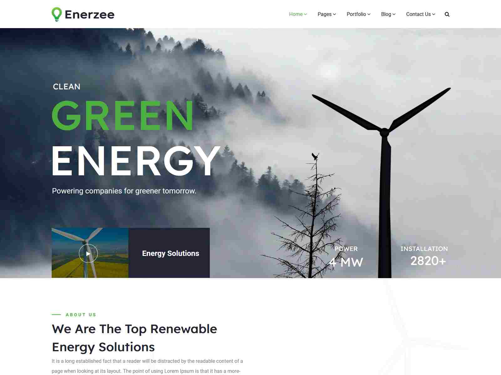 Best Premium Environmental WordPress Themes