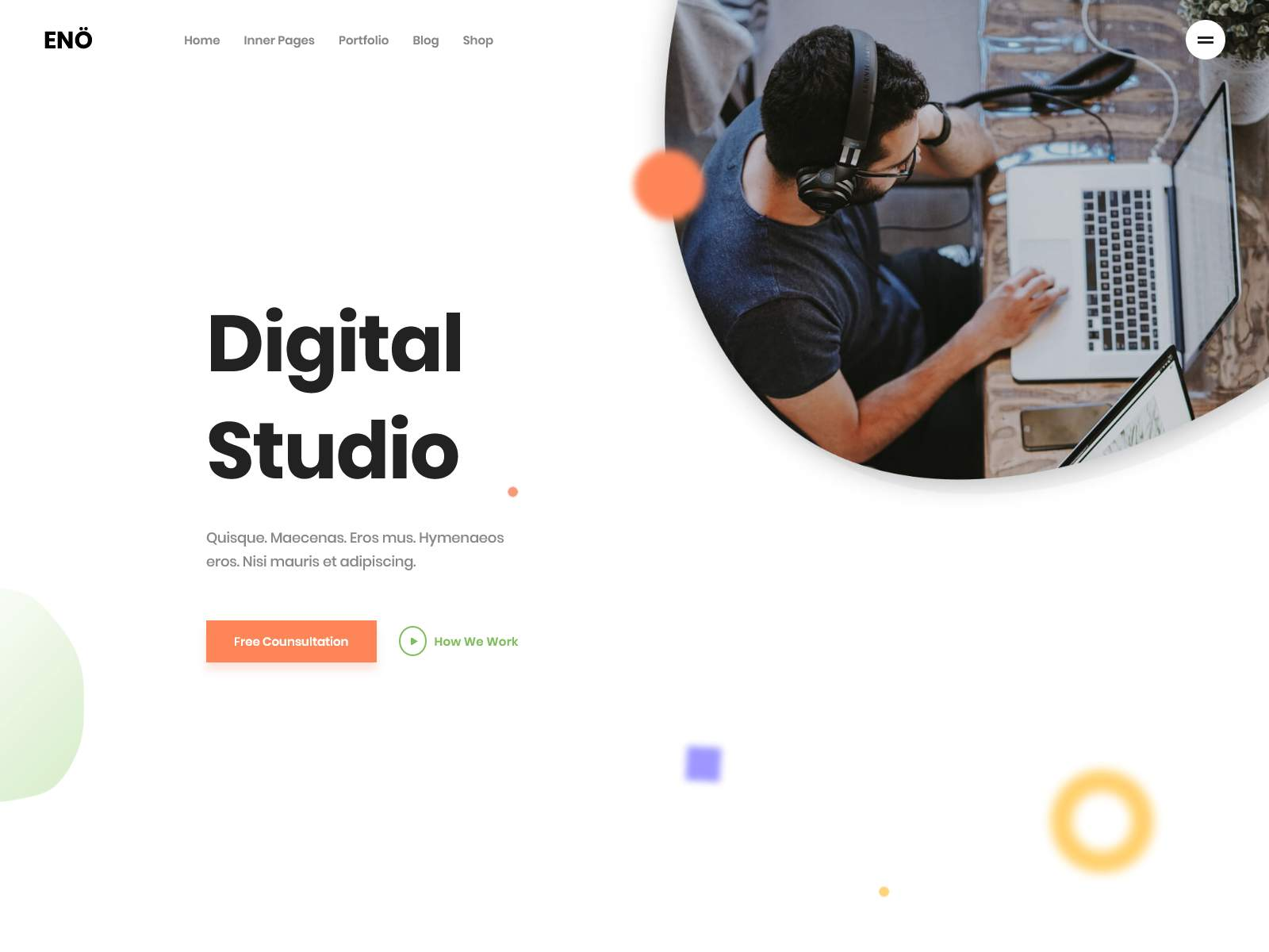 Eno - Portfolio Agency WordPress