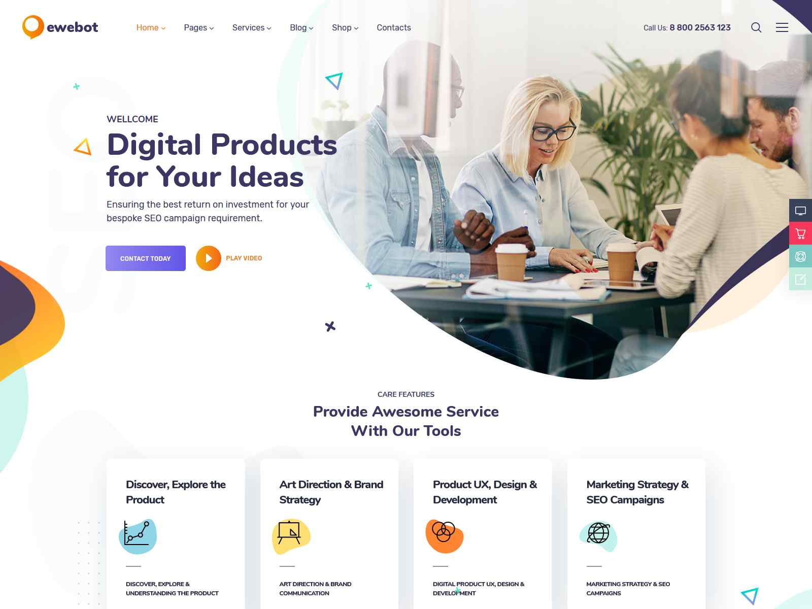 Ewebot - Marketing SEO Digital Agency